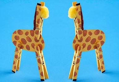 Поделки с жирафами из бумаги 25