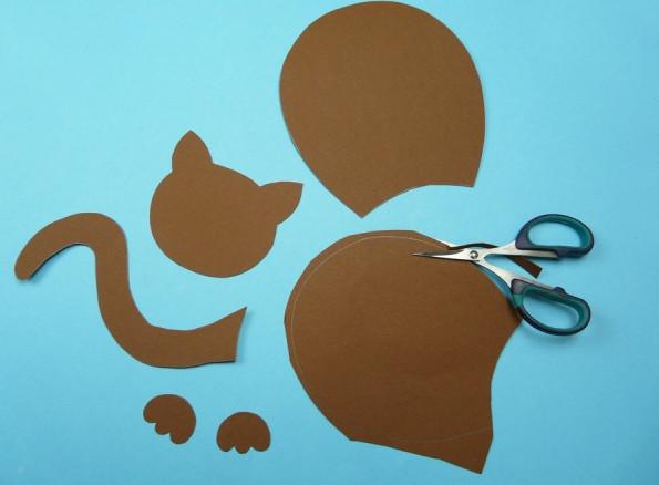 Кот из картона своими руками фото 493