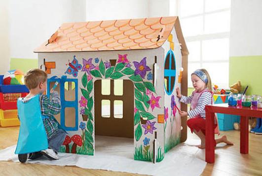 Домики для детей своими руками видео из дерева