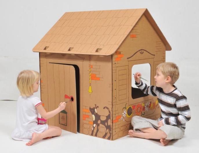Как сделать домик ребенку самому 915