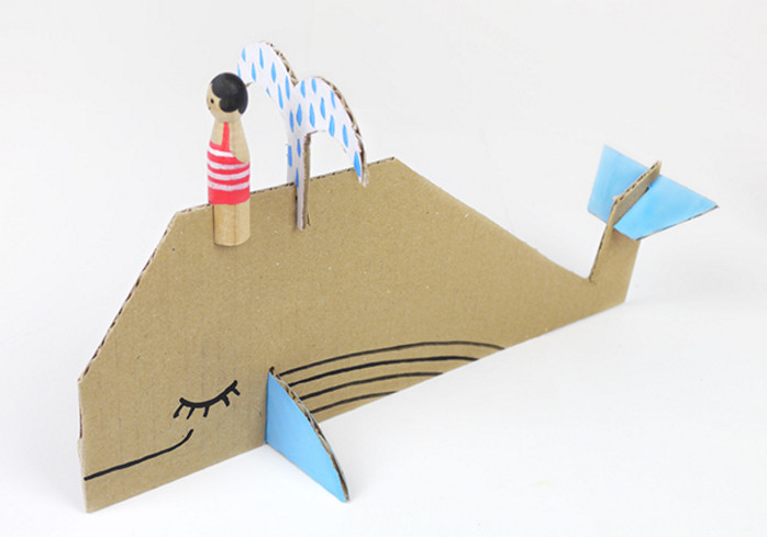 Игрушки объемные из картона своими руками