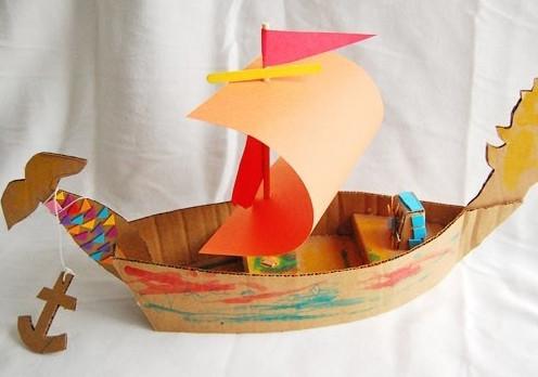 Поделки из бумаги корабли своими руками