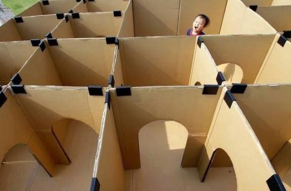 Из коробок своими руками