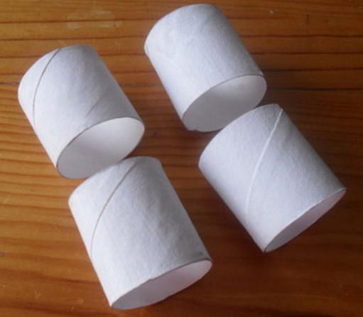 Из рулонов от туалетной бумаги своими руками