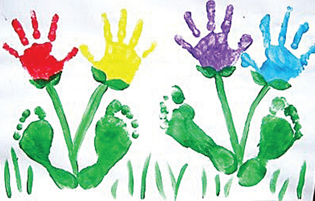 Рисуем своими руками детскими