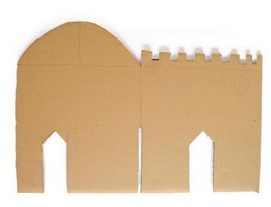 Как сделать замок из коробки