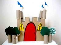 Замок из картона (7)
