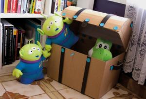 Игрушки из картонных коробок своими руками