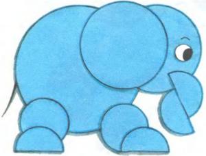 Поделки из бумажных кружков с детьми