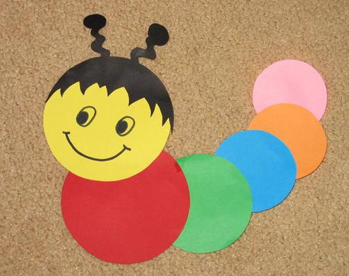 Поделки для детей из цветной бумаги для 3 лет
