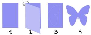 Бабочки из бумаги своими руками (14)