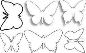 Бабочки из бумаги своими руками (16)