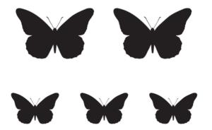 Бабочки из бумаги своими руками (17)