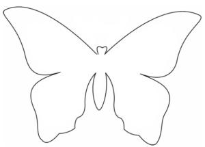 Бабочки из бумаги своими руками (18)