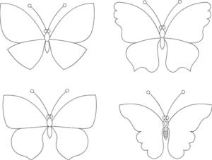 Бабочки из бумаги своими руками (19)