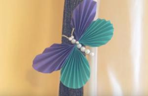 Бабочки из бумаги своими руками (20)