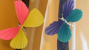 Бабочки из бумаги своими руками (21)
