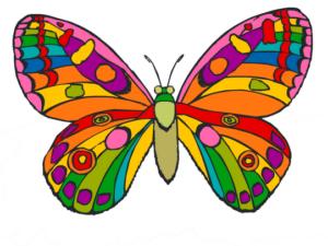 Бабочки из бумаги своими руками (31)