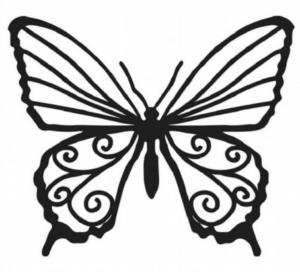 Бабочки из бумаги своими руками (40)