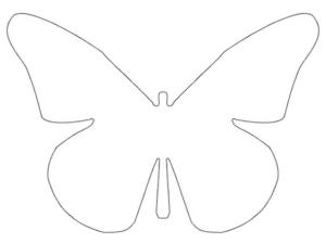 Бабочки из бумаги своими руками (41)