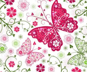 Бабочки из бумаги своими руками (8)