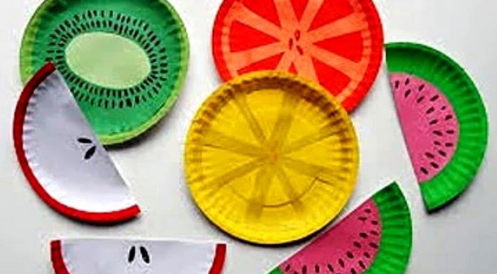 Поделок из бумажных тарелок
