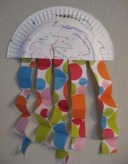 Поделки из бумажных тарелок.