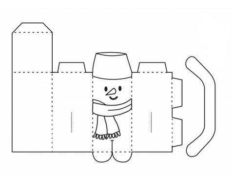 Объёмная поделки из бумаги шаблоны