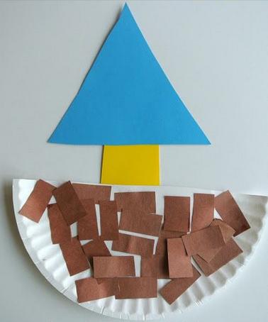 Объёмные аппликации из бумаги для детей (2)