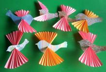 Птицы из бумаги своими руками (43)