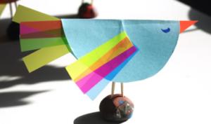 Птицы из бумаги своими руками