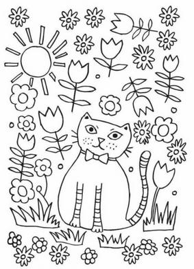 Раскраски антристресс для детей (17)