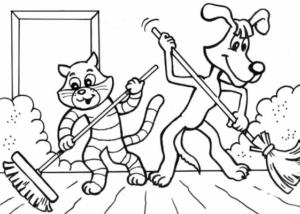 Распечатать бесплатные раскраски для детей