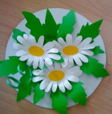 Аппликации из цветной бумаги своими руками для детей