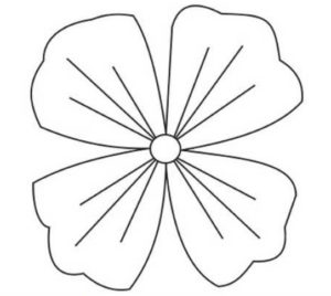 Шаблоны цветов для вырезания (13)