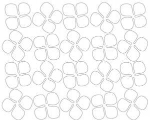 Шаблоны цветов для вырезания (29)