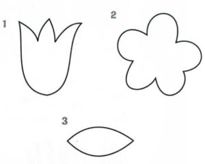 Шаблоны цветов для вырезания (3)