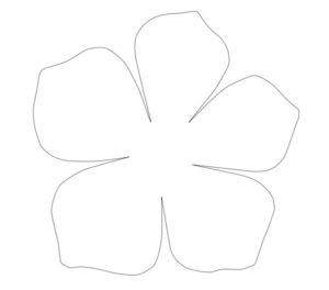 Шаблоны цветов для вырезания (31)