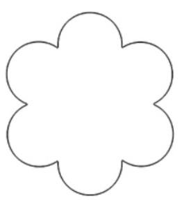 Шаблоны цветов для вырезания (32)