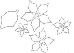Шаблоны цветов для вырезания (38)