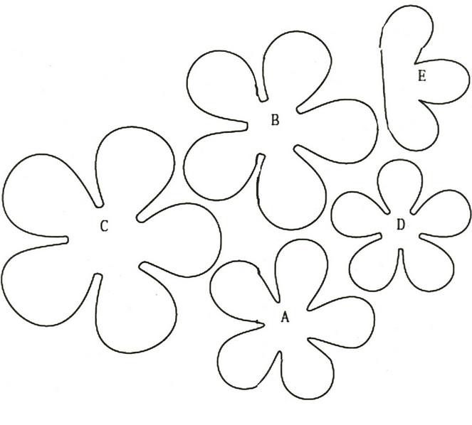 Ваза украшенная цветами