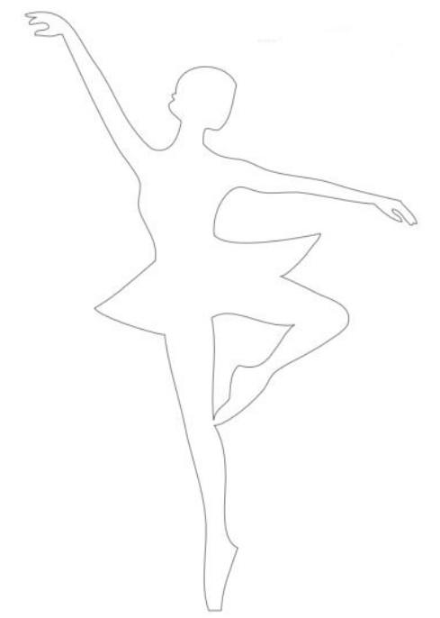 Балеринка из бумаги (1)