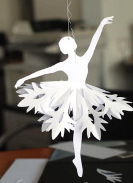 Балеринка из бумаги (10)