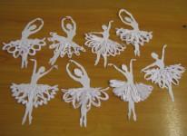 Балеринка из бумаги (11)
