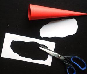 Как сделать дед мороза из бумаги (8)
