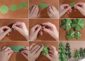 Как сделать новогоднюю елку (1)