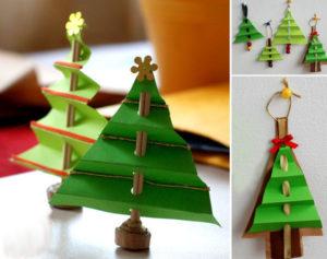 Как сделать новогоднюю елку (10)