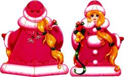 Как сделать снегурочку (7)