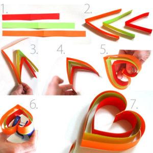 Новогодние игрушки из бумаги (25)