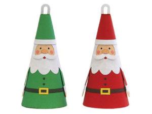 Новогодние игрушки из бумаги (8)